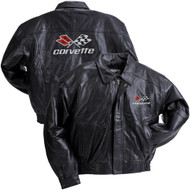 C3 Corvette Leather Jacket