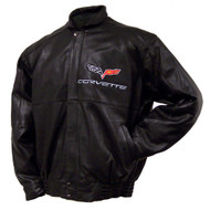 C6 Corvette Leather Jacket