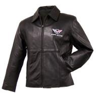 Ladies C5 Corvette Leather Jacket