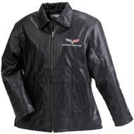 Womens C6 Corvette Leather Jacket