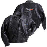 ZR1 Corvette Leather Jacket