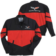 C6 Corvette Twill Jacket