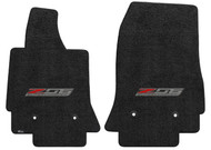 C7 Z06 Corvette Ebony Floor Mats