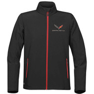 C7 Corvette Stingray Matrix Black Jacket
