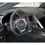 C7 Corvette Interior Cabin Shot