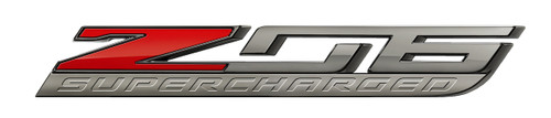 C7 Z06 Corvette Metal Sign