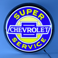Chevrolet Super Service Backlit Sign