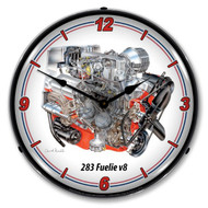 283 V8 Fuelie Clock
