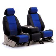 Black/Blue Neoprene Sample Seats