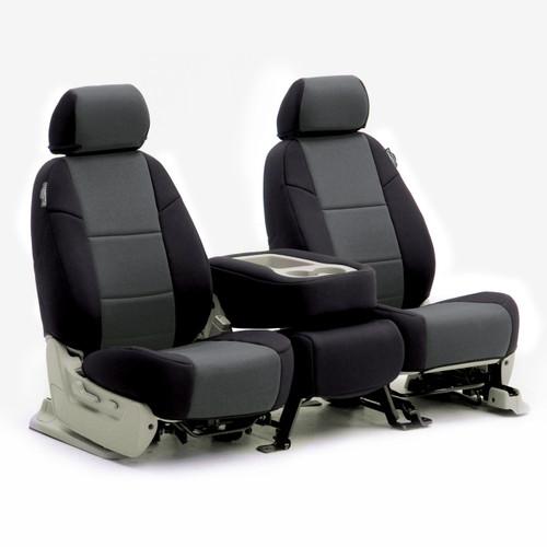 Black/Charcoal Gray Neoprene Sample Seats
