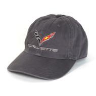 C7 Corvette Charcoal Gray Hat