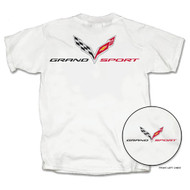 C7 Corvette Grand Sport White T-Shirt