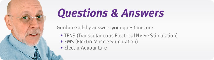 FAQs - TENS, EMS, Electro-Acupuncture