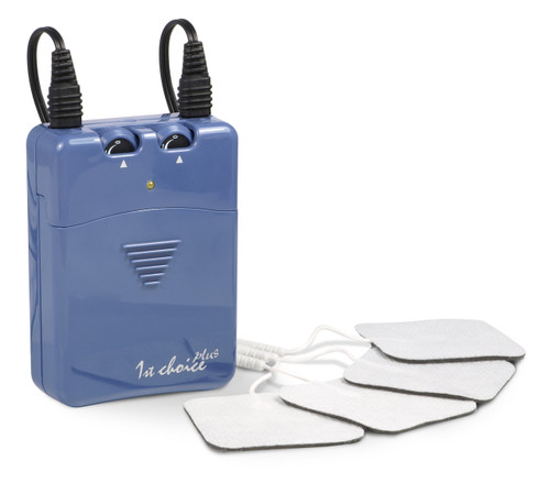 The 1st Choice Plus TENS machine is the more sophisticated of our value-for-money range