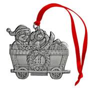 Elf in Coal Car - Ornamnet