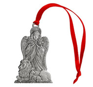 Angel with Lion & Lamb - Ornament