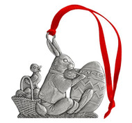 Bunny with Egg - Ornament