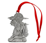 Elk on Bluff - Ornament