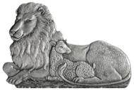 Lion & Lamb - Pin