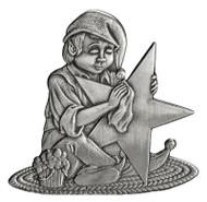 Elf Polishing Star - Pin