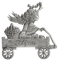 Angel on Wagon - Pin