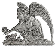 Angel picking flowers - Pin