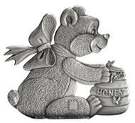 Teddybear and Honey pot - Pin