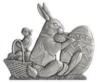 Bunny Painting Egg - Pin