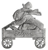 Mr. Bunny in Wagon - Pin