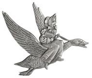 Mother Goose - Pin