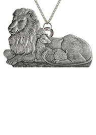 Lion & Lamb - Pendant