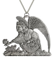 Angel Picking Roses - Pendant