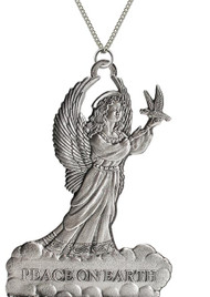 Angel with Dove - Pendant