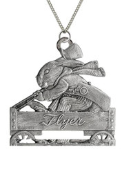 Mr. Bunny in Wagon - Pendant