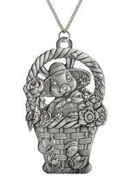 Bunny in a Basket - Pendant