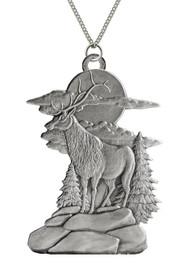 Elk on Bluff - Pendant