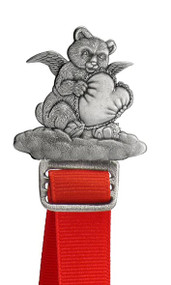 Bear Angel with Heart - Bookmark