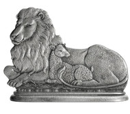 Lion and Lamb - Paperweight or Figurine