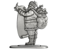 Santa with List - Paperweight or Figurine