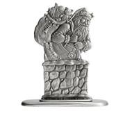 Santa in Chimney - Paperweight or Figurine
