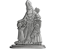 Sinter Clause with Children - Paperweight or Figurine
