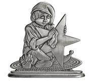 Elf Polishing Star - Paperweight or Figurine