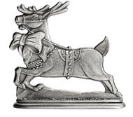 Reindeer with Bow - Paperweight or Figurine