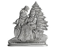 Mrs. Claus with Quilt - Paperweight or Figurine