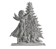 Angel with Christmas Tree - Paperweight or Figurine