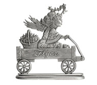 Angel in Wagon - Paperweight or Figurine