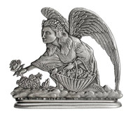 Angel picking Roses - Paperweight or Figurine