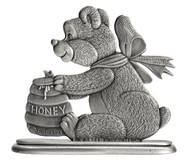 Teddy Bear with Honey Pot - Paperweight or Figurine