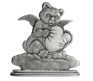 Bear with Angel with Heart - Paperweight or Figurine