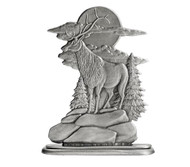 Elk on Bluff - Paperweight or Figurine